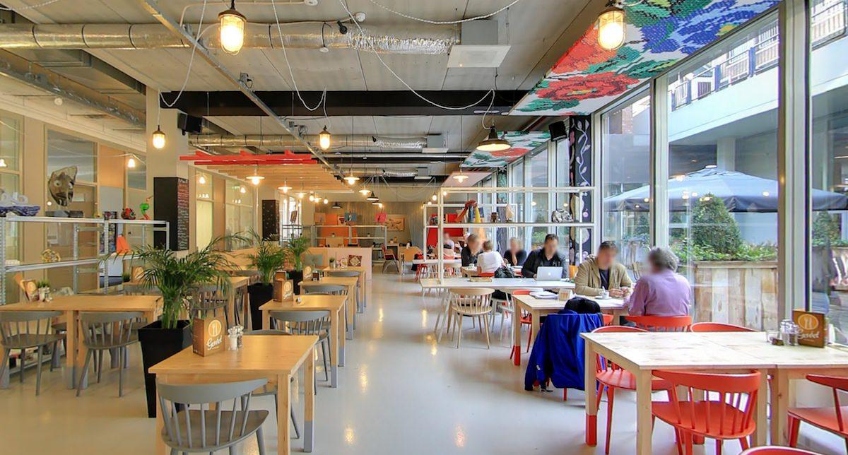 Foto café en lunchruimte In de Weerd Arnhem
