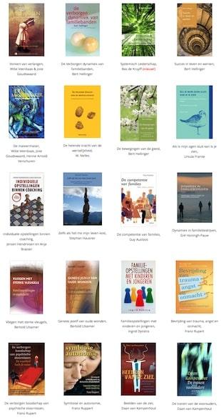 miniatuur boekenlijst familieopstellingen