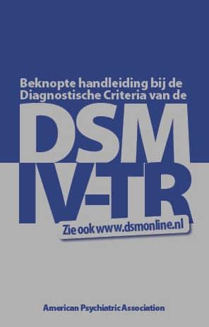 afbeelding boek DSM-IV