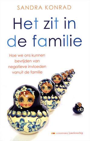 Afbeelding van het boek Het zit in de familie door Sandra Konrad