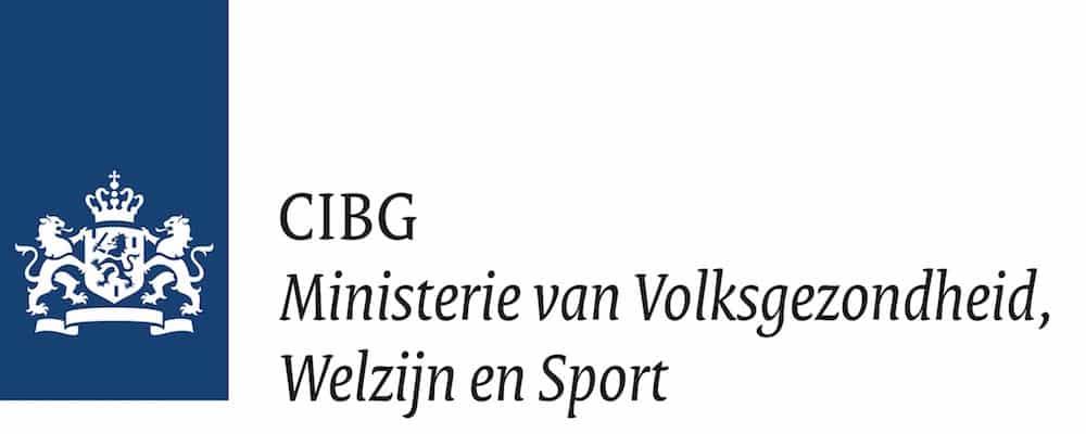 Logo CIBG & Ministerie van Volksgezondheid, Welzijn en Sport